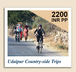 Cycling Tours : Udaipur Country-side Trips